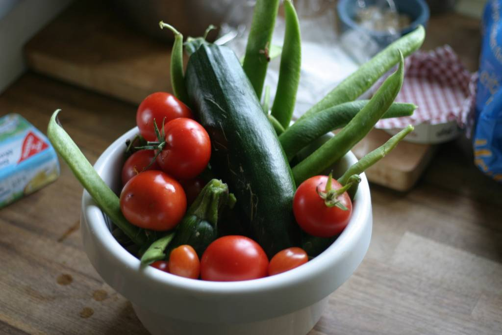 Ernte - Frisch aus dem Garten