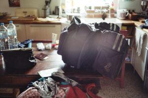 Gepäck für die Reise mit dem Rad