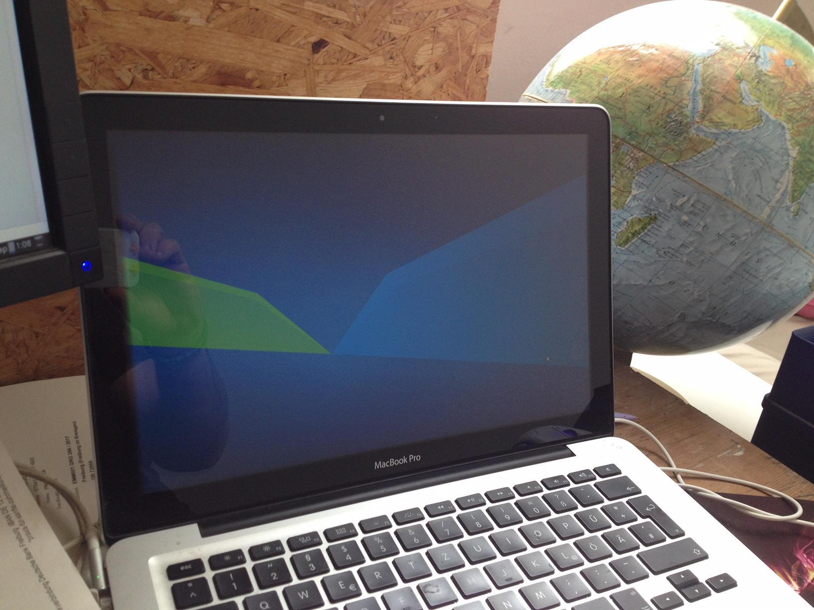 Xubuntu auf MacBookPro